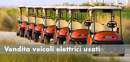 Vendita veicoli elettrici usati