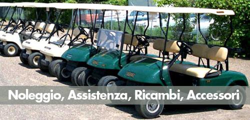 noleggio golf cart usate