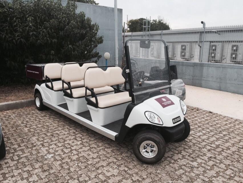 Ez Go Lxi 48v 6 Posti Anno 2009 Planet Golf Cart