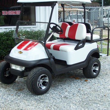 CLUBCAR Red&white
