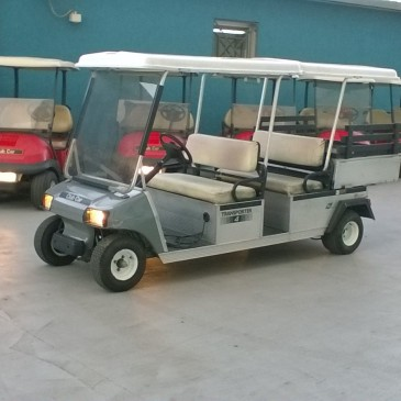 CLUB CAR DS 4 seats with rear box , anno 2008