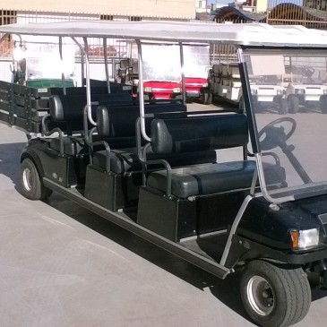 Clubcar carryall 6seats+box