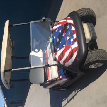 Clubcar Precedent 2 seats, 48V – Freedom style