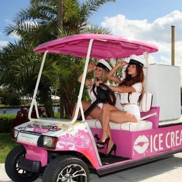 Clubcar Villager x ice creams!