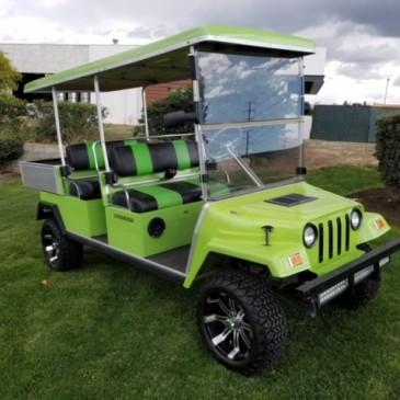 Clubcar villager, Jeep version