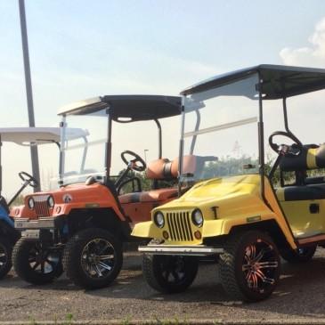 EZGO – Jeep versions