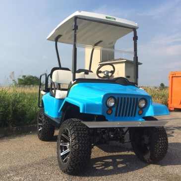 EZGO RXV, JEEP BLU version