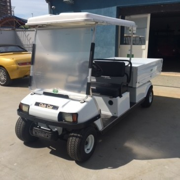 CLUBCAR VILLAGER, 48V, 2seats + box