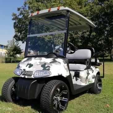 EZ-GO RXV, 2+2 seats, Camouflage