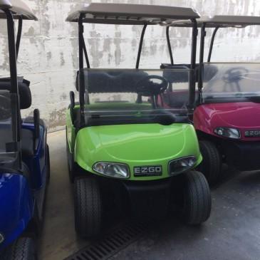 Ezgo RXV 2 seats, 48V verde lime