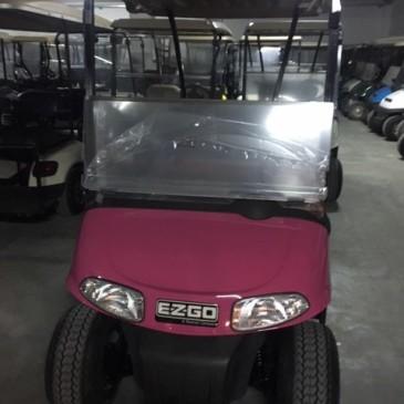 Ezgo RXV 2 seats, 48V pink