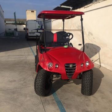 Clubcar Alfa-body 48V, 2+2 posti