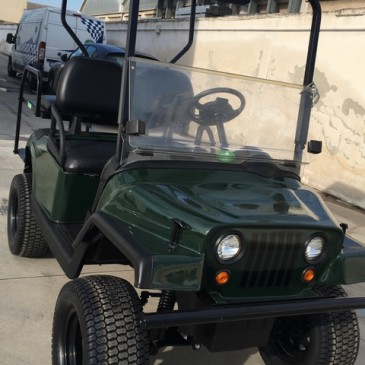 EZGO RXV Jeep version