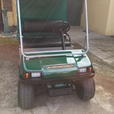 Clubcar Villager 2+box telonato