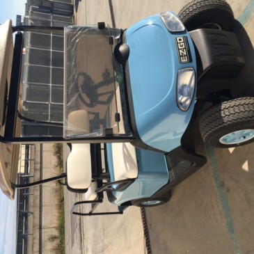 EZGO RXV 2+2 posti, light blue
