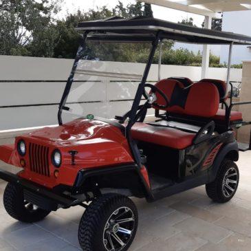 Clubcar Jeep style
