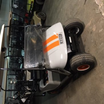 Ezgo TXT orange stripes!